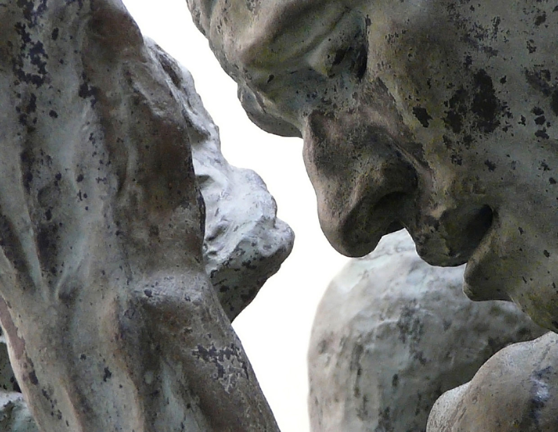 Auguste Rodin, detail from The Burghers of Calais. Photo by Tim Nighswander/IMAGING4ART