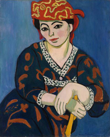 Matisse Red Madras Headress