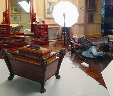 Photographing a collection for the Art Institute of Chicago exhibition, Ireland: Crossroads of Art and Design, 1690-1840.